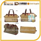 Canvas With Leather Mens/women Briefcase