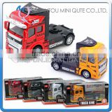 Mini Qute 1:32 kid Die Cast pull back alloy engineering Tractors truck vehicle diecast model car educational toy NO.MQ 2212B