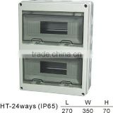 HT-24ways Distribution Box(Electrical Distribution Box,Plastic Enclosure)