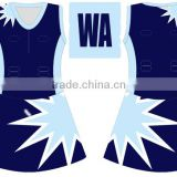 Summer Hot Sublimation Girls Netball Jerseys