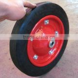 solid wheel, rubber wheel, solid rubber wheel, 13''x3'' solid rubber wheel