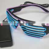 Hot Sale glasses led Light up Illuminated Neon glasses led glasses LED Submersible Floralyte glasses