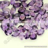 High Quality Amethyst Cushion Briolette Cut Gemstones for Handmade Jewelry