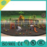 kids used rock climbing walls forest theme
