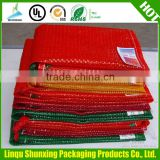packing bag for firewood / L-sewing leno mesh bag for packing kindling / bag for kindling log