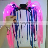Flashing hair band with 10 leds