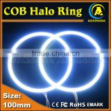 car angel eye white red green yellow blue 100mm COB halo ring