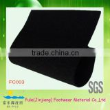 black rubber material for floor underlayment