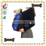blue chest front dog carrier