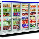 The height to 2.05m The heat-protecting glass door display freezer beer display freezer GLF2.5a
