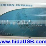 Promotional USB flash card,Visa card usb drive,American Express flash card usb
