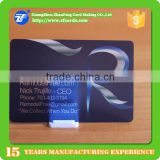 0.38mm thin plastic transparent business card printing factory                                                                                                         Supplier's Choice