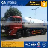 dongfeng 8x4 lpg tank truck 34.5cbm liquefied gas tanker