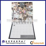 best folding table top calendar custom and printing