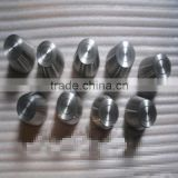 R60702 pure ZR industrial zirconium alloy bright machined crucibles for fob price