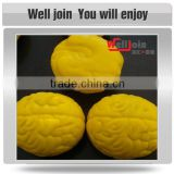 Promotion multi shape brain stress ball