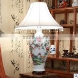 Jingdezhen blue and white porcelain ceramic table lamp online shopping