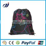 Hot Selling waterproof nylon drawstring gym bags gym sack drawstring bag gym bags personalized