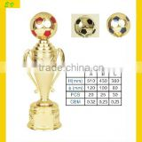 Plastic Trophies and Awards Football Trophy Soccer Trophy 2856