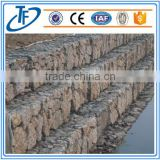 high quality wire cages rock retaining wall /gabion mesh price / gabion box