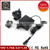 top selling products original ac power supply for asus 19V 1.75A 4.0*1.35mm 33w genuine original laptop ac adapter