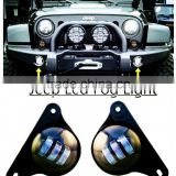 2Pcs 4 Inch Front Bumper LED Fog Light For JEE-P Wrangle-r Unlimited JK Dodge Chrysler Magnum 12V 24V Car Driving Fog Lamp