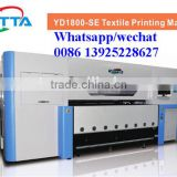 Digital mass production roll textile bed sheet machine, digital roll nylon printer with high speed