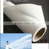 Waterproof Non-woven cloth blank scrolls for pigment inks