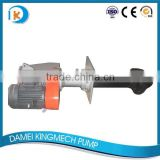 Vertical type VSD series high efficiency rubber impeller circulating submersible pump 2 inch