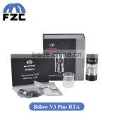 In Stock!!! Huge Vapor 5.4ml Capacity RTA Tank Atomizer Top Filling Authentic Ehpro Billow V3 Plus Fit Wismec RX200S