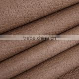 100% polyester warp knitting PU sofa fabric combined with fleece home textile fabric artificial leather sofa furniture fabric