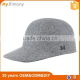 wholesale lady 100%wool felt winter/autumn baseball cap                                                                         Quality Choice