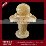 Outdoor Garden Marble Floating Ball Water Fountain