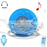 Portable Waterproof Wireless Bluetooth Speaker Car Handsfree Receive Call Music Suction Mic