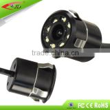 Factory price Rear view auto camera with 8 lights ,car camera for the parking sensor system
