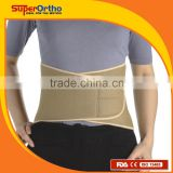 Lumbar Back Spinal Brace Support Belt--- D5-001 Airprene Waist Belt w/3 stays