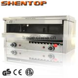 Shentop kitchen equipment salamander slide-in removable side panels STPP-MHL3 Piezo igniter Gas Salamander