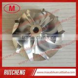 HX35 3599649/4035699 53.91/78.00mm 5+5 blades high performance racing turbo billet/milling compressor wheel for 998-2002 Ram 25