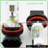 2015 New design 45w H8 H9 H11 H16 12v car led fog light for honda city