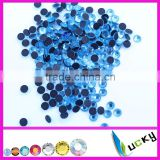 2014 new strass hotfix cristal beads flat back hot fix rhinestones for iron on transfers