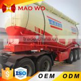 China manufacturer tri-axle one Silo truck diesel fuel type Bulk cement Tank trailer exporting for sale