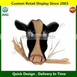 "wood signs/ zoo decoration signs/ animal horse shape on wall 3"" YM3-117"