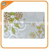 Popular design butterfly printing PVC PP plastic table placemat