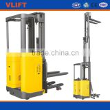 1.5ton Narrow aisle lift truck offer smallest trunning radius