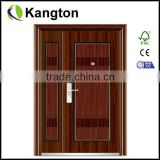 steel apartment building entry doors