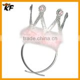 Hot Sale Fashion silvery King Crown Decorations