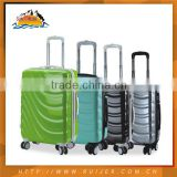 ABS+PC 24 Inch Trolley Suitcase 4 Wheels Hard Plastic Kids Luggage
