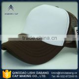Abundant technical force excellent quality custom embroidered trucker baseball caps for men