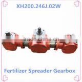 One Input Two Output PTO Agricultural Gearbox Used in Fertilizer Spreader