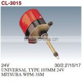 Windshield Wiper Motor/Windscreen Wiper Motor/Auto Wiper Motor For UNIVERSAL TYPE 85MM 24V MITSUBA WPM-3SM